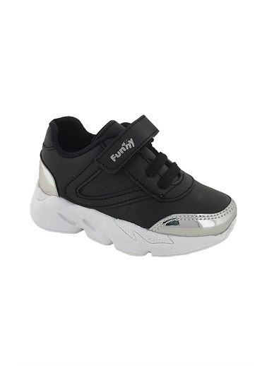 Necix's Funny Bebek Cırtcıtlı Spor Ayakkabı-Lacivert Funny Bebek Cırtcıtlı Spor Ayakkabı-Lacivert Siyah